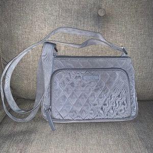 Vera Bradley Little Hipster Crossbody Bag Grey